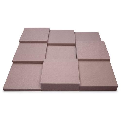 Панель из акустического поролона Ecosound Pattern light gray 60мм, 60х60см серый