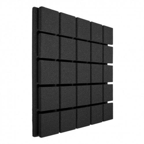 Панель из акустического поролона Ecosound Tetras Black 50x50см, 20мм, черный