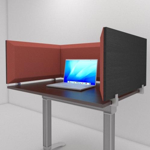 Настольная акустическая ширма для столов Desktop Acoustic Screen Color U-Type