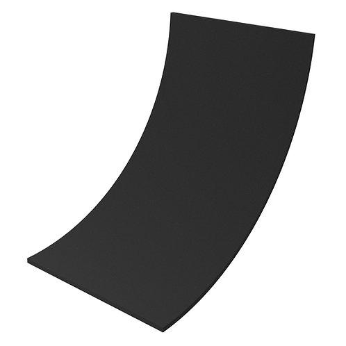 Акустический поролон Ecosound ровный 2х1м 30мм черный графит