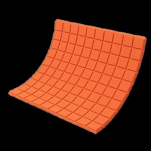 Панель из акустического поролона Ecosound Tetras Color 1000х1000х20 мм оранжевая