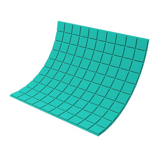 Панель из акустического поролона Ecosound Tetras Color 1000х1000х20 мм зеленая