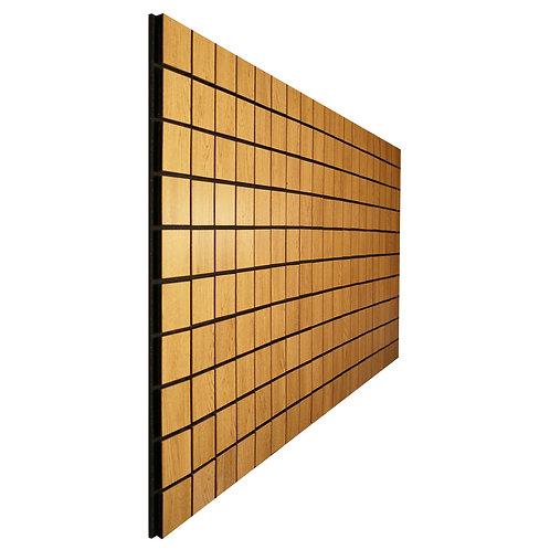 Акустическая панель Ecosound Tetras Wood Cream 100x200см 30мм цвет светлый дуб