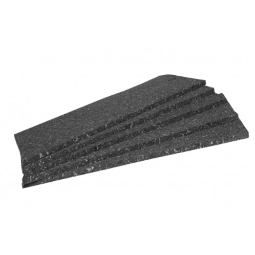 Акустическая плита Ecosound Macsound Prof 2мх1мх20мм цвет графитно-черный