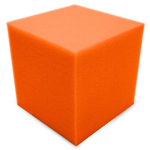 Бас ловушка Ecosound КУБ угловой 15х15х15 см Цвет оранжевый