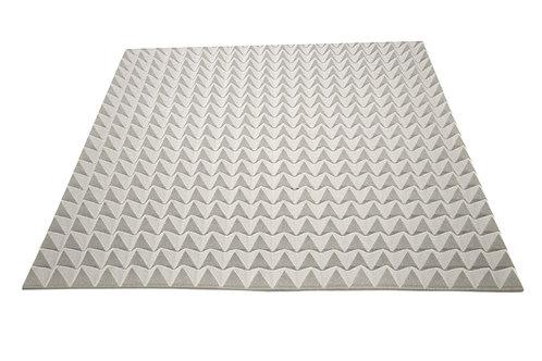 Акустический поролон Ecosound пирамида 50мм 1мх1м Цвет серый