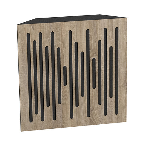 Бас ловушка Ecosound Bass trap wood 500х500х150 цвет сонома