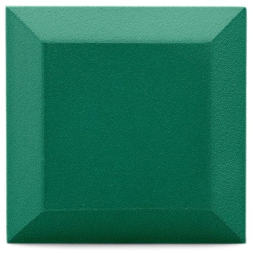 Бархатная акустическая панель Ecosound Velvet Kelly green 25х25см 50мм. Зеленый