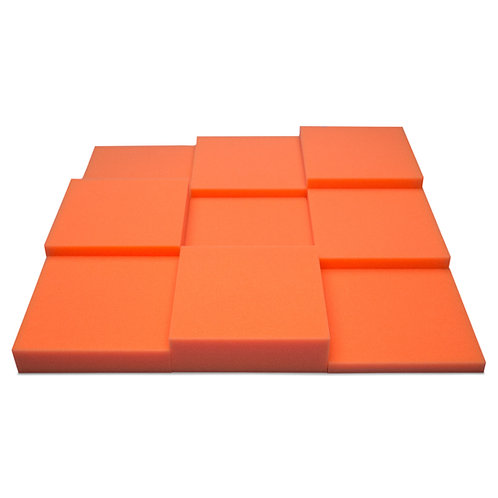 Панель из акустического поролона Ecosound Pattern Orange 60мм, 60х60см оранжевый