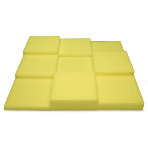Панель из акустического поролона Ecosound Pattern Yellow 60мм, 60х60см желтый