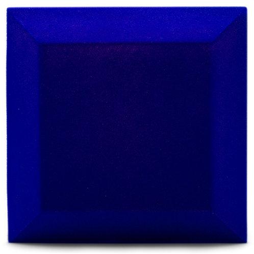 Бархатная акустическая панель Ecosound Velvet Electric blue 25х25см 50мм. Синий