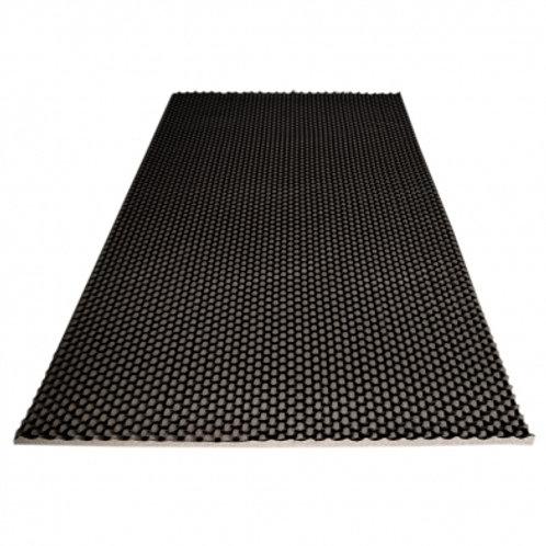 Ячеистый поролон волна Ecosound толщина 20мм,1мх1м Цвет черный графит