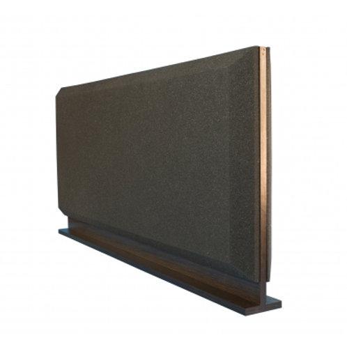 Настольная акустическая ширма для столов Ecosound Trapeze Screen 1200х600 черный