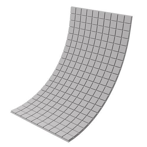 Панель из акустического поролона Ecosound Tetras Gray 100x200см, 30мм, серый