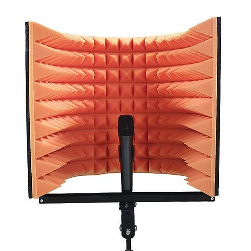 Акустический экран для микрофона Ecosound L 50х50 см цвет оранжевый