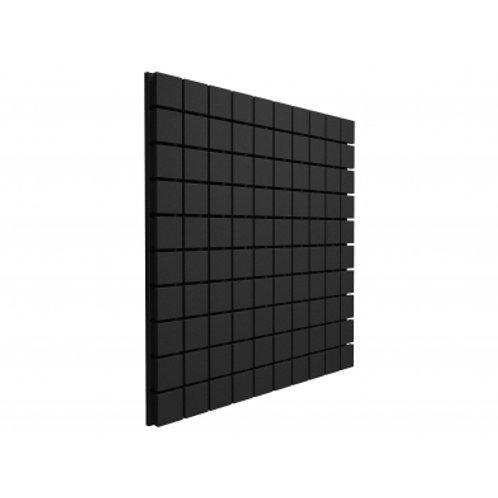 Панель из акустического поролона Ecosound Tetras Black 100x100см, 20мм, черный