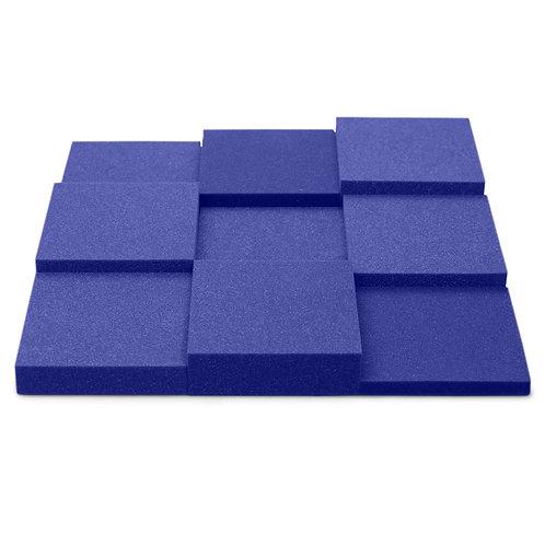 Панель из акустического поролона Ecosound Pattern Velvet 60мм, 60х60см синий