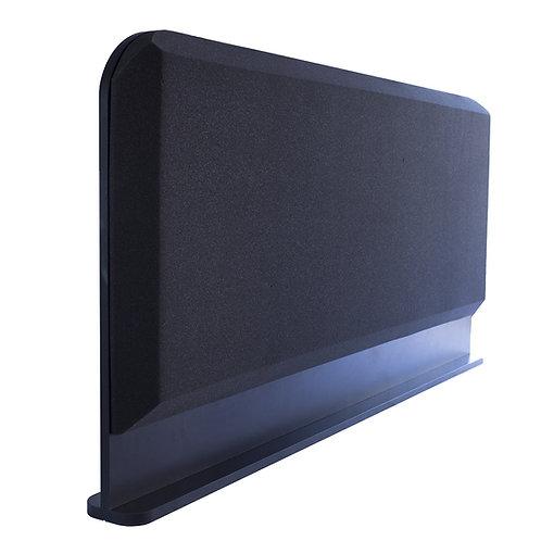 Настольная акустическая ширма для столов Ecosound Rounded screen 1200х600 мм
