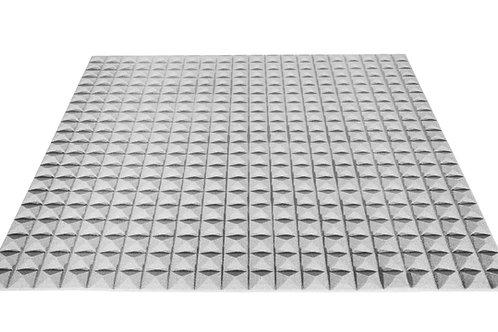 Акустический поролон Ecosound пирамида 20мм 1мх1м Цвет серый