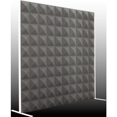 Акустическая ширма Ecosound Acoustic Pyramid 200х200 см цвет черный графит