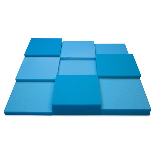 Панель из акустического поролона Ecosound Pattern Blue 60мм, 60х60см синий