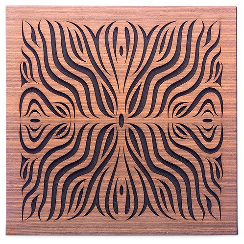 Акустическая панель Ecosound Chimera F Rosewood 50x50см 33мм цвет коричневый