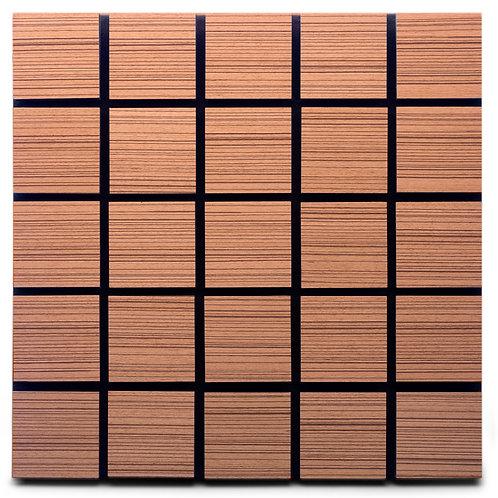 Акустическая панель Ecosound Tetras Rosewood 50x50см 53мм цвет коричневый