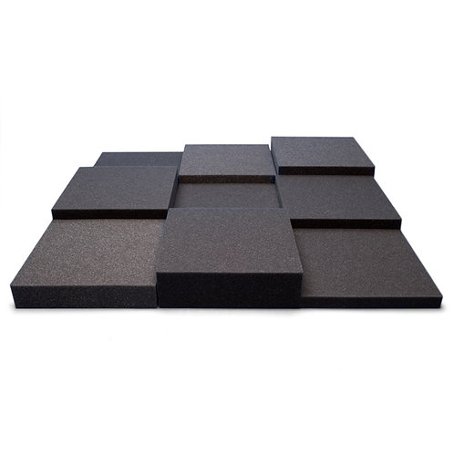 Панель из акустического поролона Ecosound Pattern Black 60мм, 60х60см черный