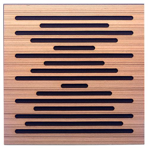 Акустическая панель Ecosound EcoWave Zebrano 50x50см 73мм цвет крем