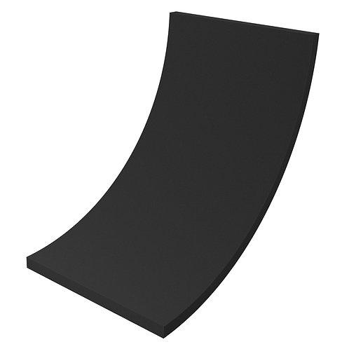 Акустический поролон Ecosound ровный 2х1м 70мм черный графит