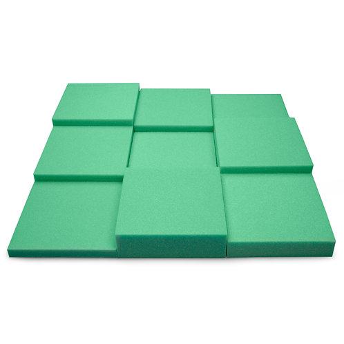 Панель из акустического поролона Ecosound Pattern Green 60мм, 60х60см зеленый
