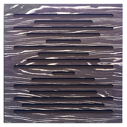 Акустическая панель Ecosound EcoWave Ebony&Ivory 50x50см 33мм цвет черно-белый