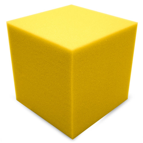 Бас ловушка Ecosound КУБ угловой 15х15х15 см Цвет желтый
