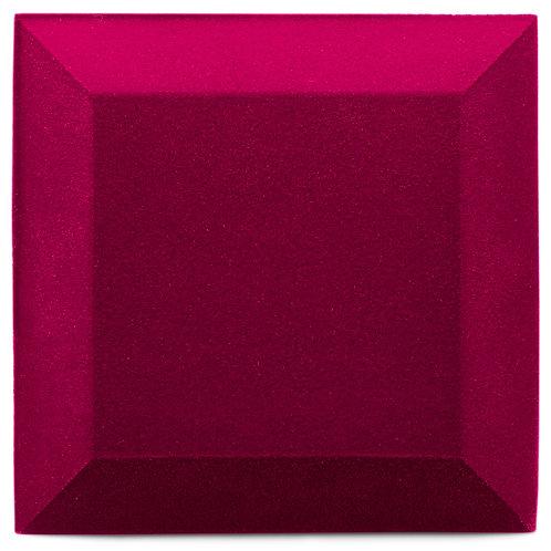 Бархатная акустическая панель Ecosound Velvet Pink 25х25см 50мм. Цвет розовый