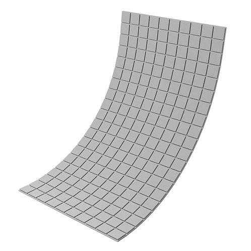 Панель из акустического поролона Ecosound Tetras Gray 100x200см, 20мм, серый
