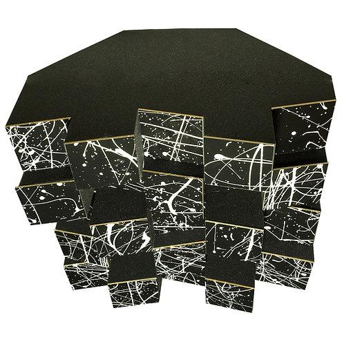 Басовая ловушка Bass trap Ecodiff foam Picasso black 500x500x300 мм цвет черный