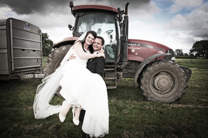 My Tractor and my Wife!