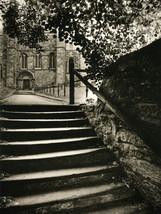 Steps & South Door