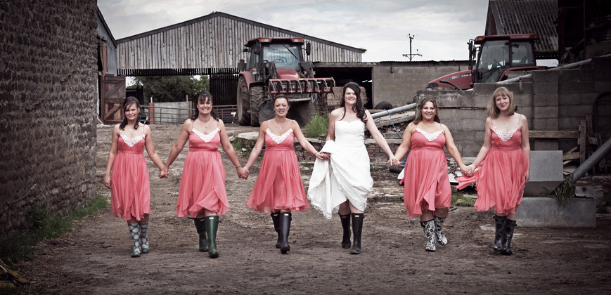 Wellies and Dresses