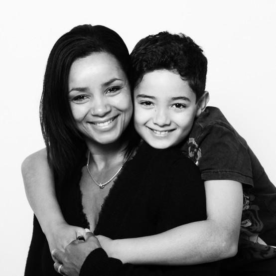 Lamara and her son