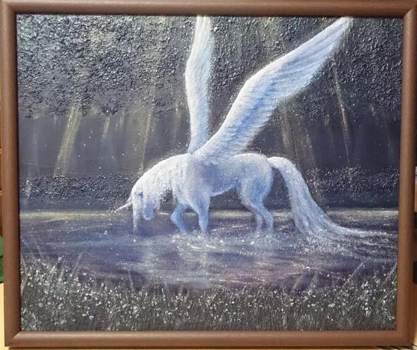 Alicorn in the light