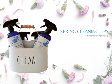 Spring Cleaning Tips 2021