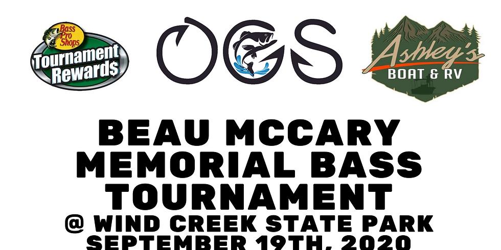 Beau McCary Bass Tournament