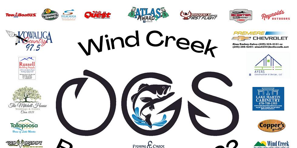 Wind Creek Bass Trail Event #1 2021-2022