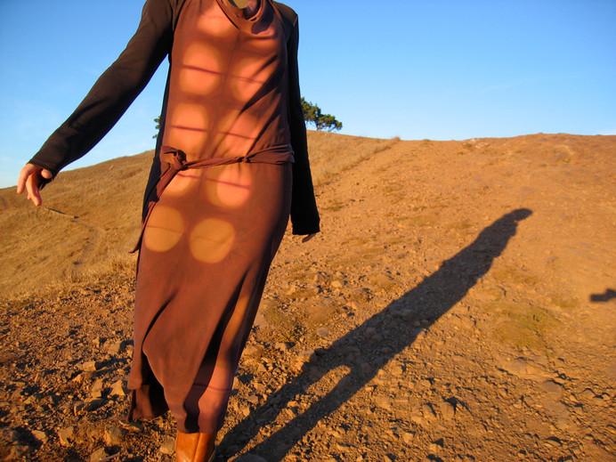 aapron dress at sunset