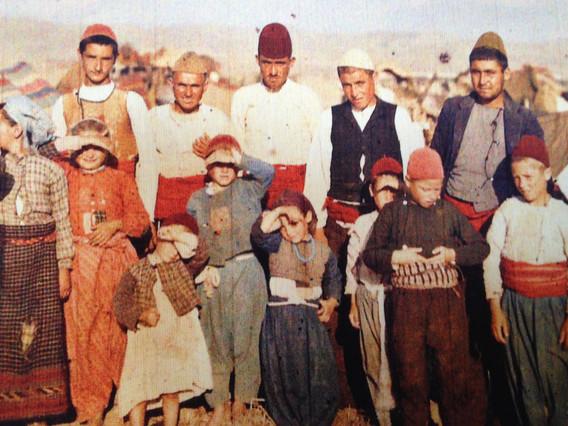 Aleppo family, Syria, circa 1900