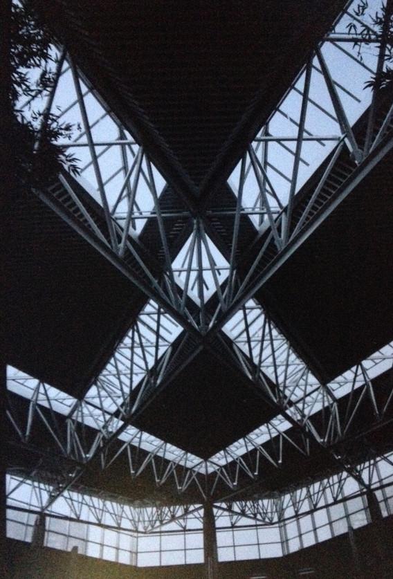 DeaMor skylight Portland airport.