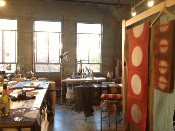 Ocelot short term studio at Heath Ceramics