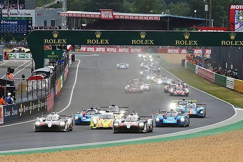 BLAST Le Mans race