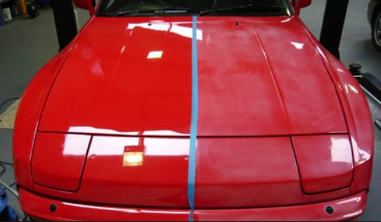 Paint Oxidation Removal